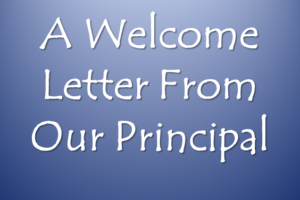 Welcome Letter Photo Slide