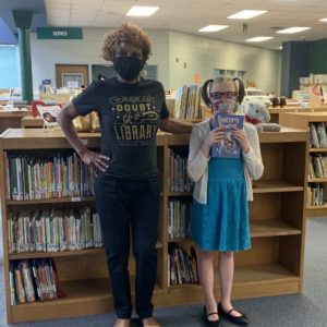 UES PATRIOTS LOVE OUR LIBRARIAN!