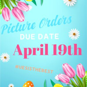 Picture Orders Due April 19th
