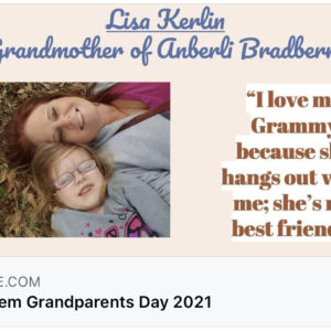 Honoring Our UES Grandparents!