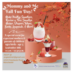 Mommy and Me Fall Fun Day