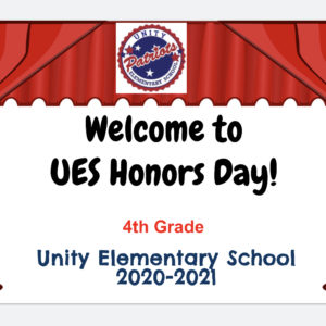 UES 4th Grade Traditional Honors Day 2021