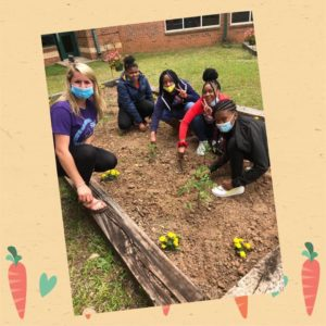 5th Graders Participate in the UES Garden Club